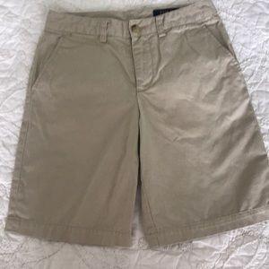 Polo By Ralph Lauren Boys khaki shorts size 12